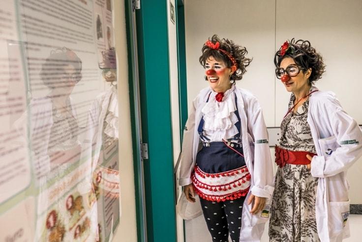 Hospitais de São Paulo recebem Roda Besteirológica dos Doutores da Alegria