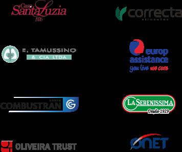 Casa Santa Luzia, Correcta, E. Tamussino, Europ Assistance, Combustran, La Serenissima, Oliveira Trust, Onet