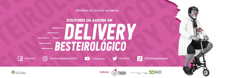 Doutores da Alegria inaugura série de vídeos Delivery Besteirológico