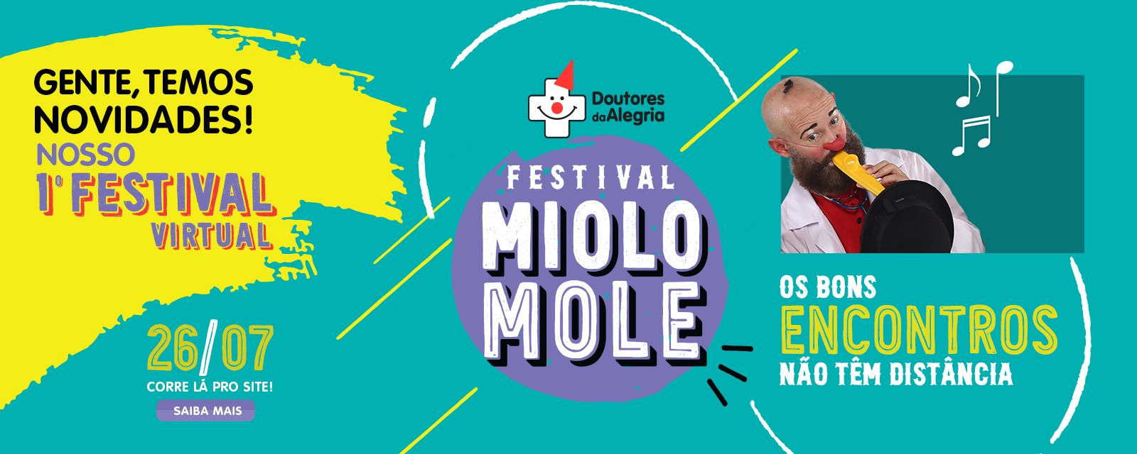 Festival Miolo Mole: confira a programação completa