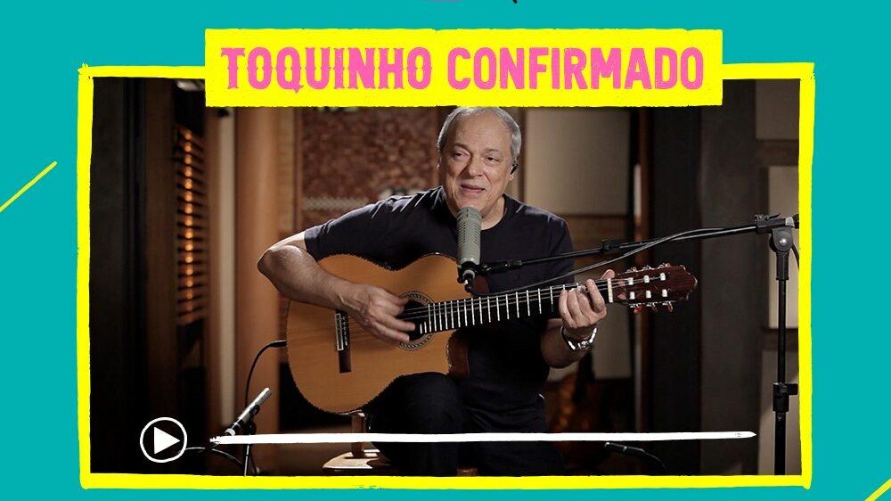 Toquinho está confirmado no Festival Miolo Mole