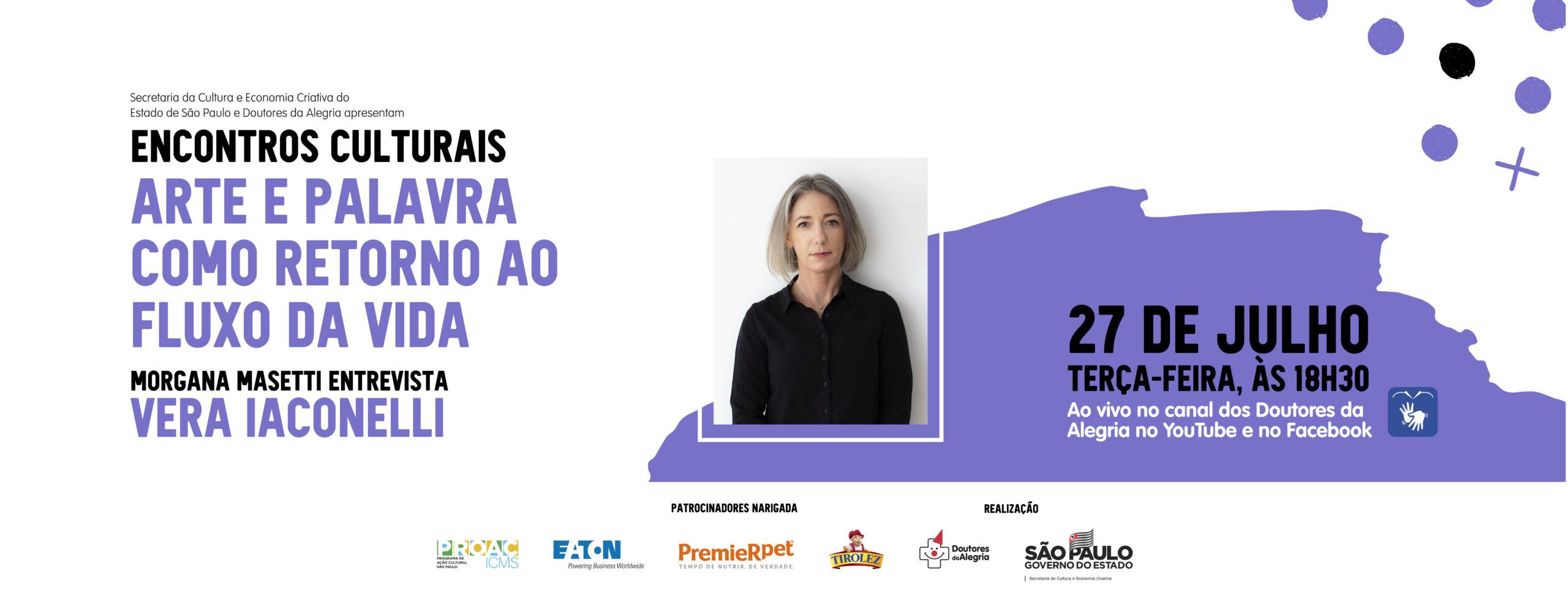 Escola Doutores da Alegria promove encontro entre Morgana Masetti e Vera Iaconelli